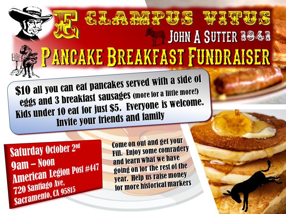 Pancake Breakfast Fundraiser @ American Legion Post 447 | Sacramento | California | United States